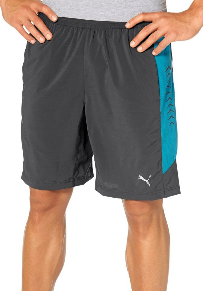 """PUMA 10"""" SHORT STRETCH WOVEN Funktionsshorts in Anthrazit"""