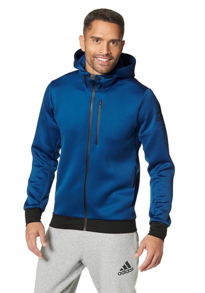 adidas Performance DAYBREAKER HOODIE Trainingsjacke in Blau