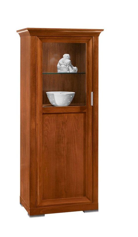 selva vitrine luna modell 7242 t ranschlag links. Black Bedroom Furniture Sets. Home Design Ideas