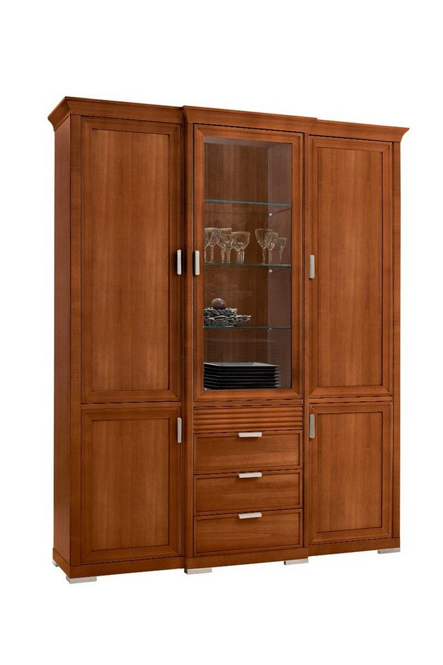 selva vitrinenschrank luna modell 7240 wahlweise mit beleuchtung online kaufen otto. Black Bedroom Furniture Sets. Home Design Ideas