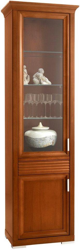 selva vitrine luna modell 7234 t ranschlag links. Black Bedroom Furniture Sets. Home Design Ideas
