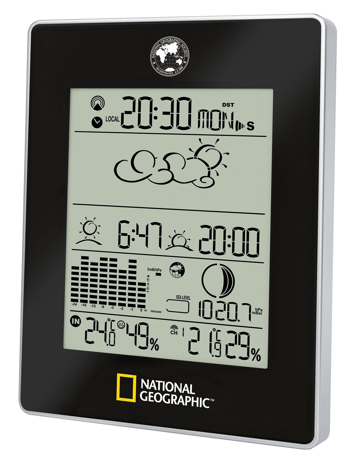 BRESSER Wetterstation »NATIONAL GEOGRAPHIC Wetter Experte«
