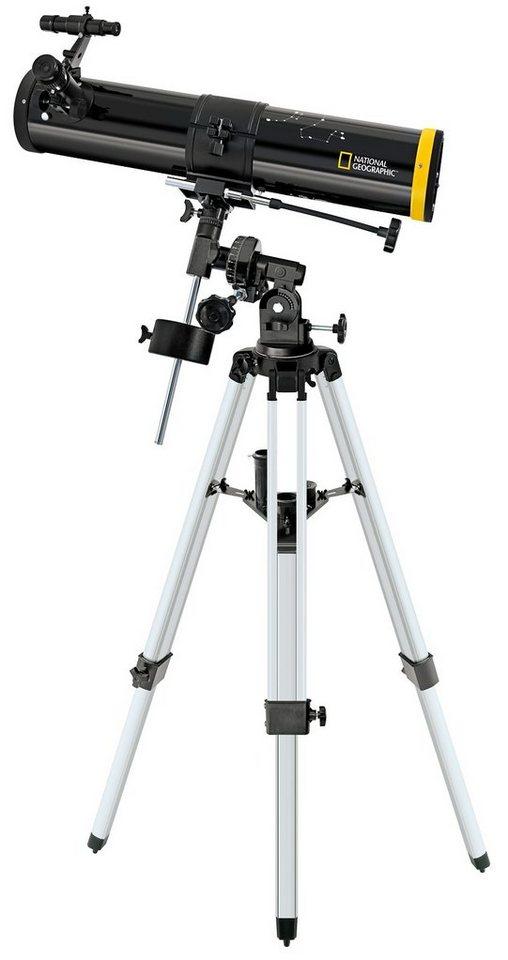 BRESSER Teleskop »NATIONAL GEOGRAPHIC 76/700 Reflektor Teleskop EQ«