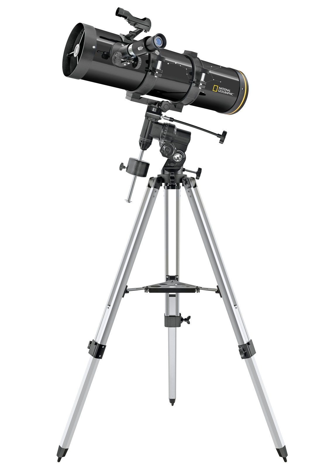 BRESSER Teleskop »NATIONAL GEOGRAPHIC Newton Teleskop 130/650 Sph.«