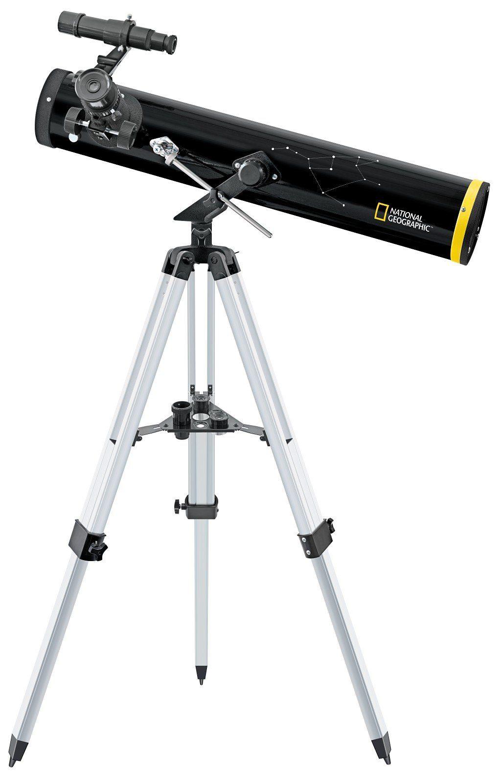 BRESSER Teleskop »NATIONAL GEOGRAPHIC 76/700 Reflektor Teleskop AZ«