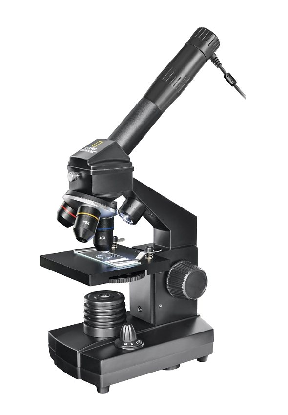Bresser Mikroskop »National Geographic 40x-1024x Mikroskop m. Koffer«
