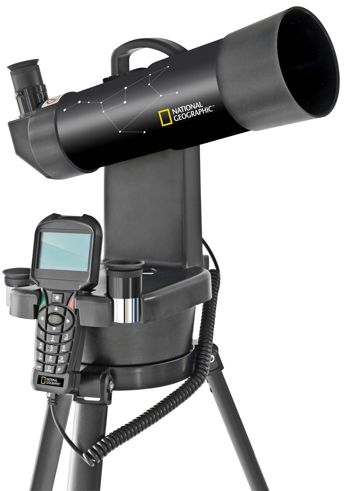 BRESSER Teleskop »NATIONAL GEOGRAPHIC Automatik 70/350 Teleskop«