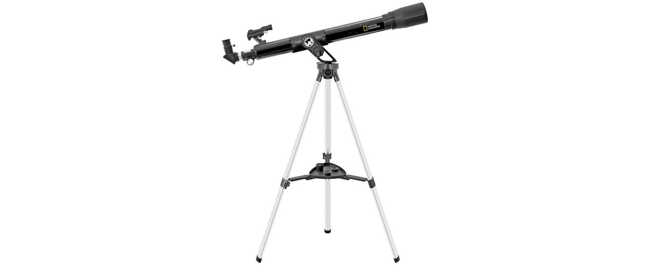 Bresser Teleskop »NATIONAL GEOGRAPHIC 60/800 Refraktor Teleskop AZ«