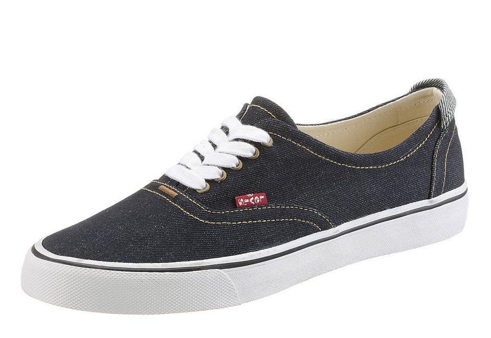 LEVI`S® Sneaker mit herausnehmbarer Sohle in dunkelblau