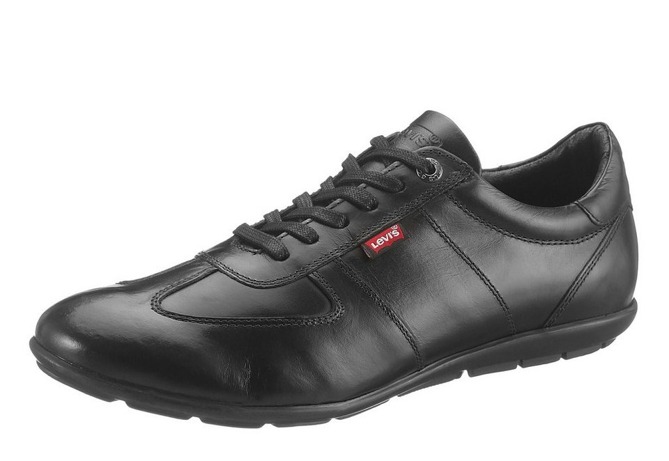 LEVI`S® Sneaker mit herausnehmbarer Sohle in schwarz