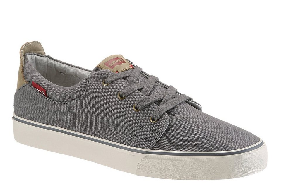 Levi's® »Justin Low Lace« Sneaker im Jeans Look in dunkelgrau