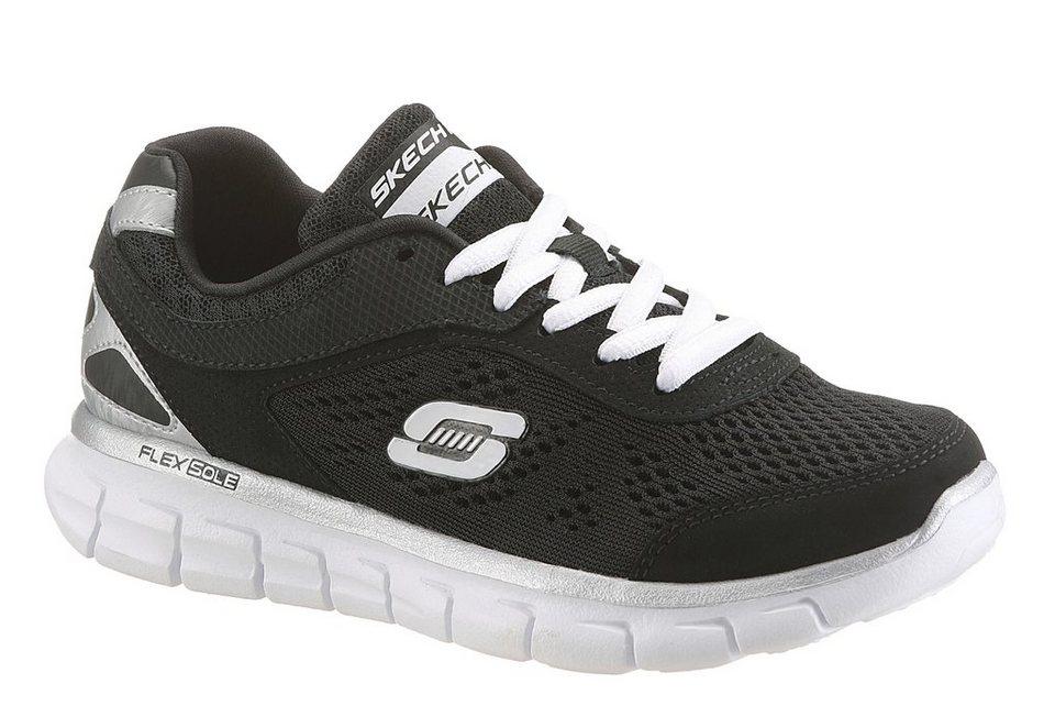 Skechers Sneaker in schwarz