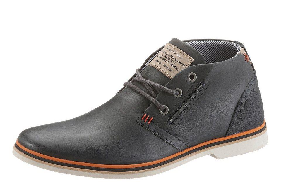 Bullboxer Boots in dunkelblau
