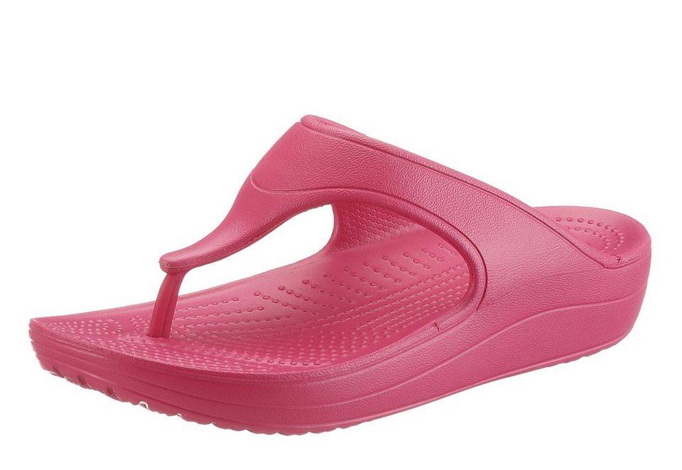 Crocs Zehentrenner in pink