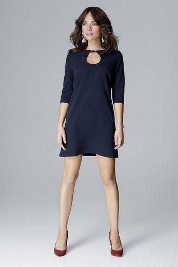 LENITIF Jerseykleid in elegantem Design