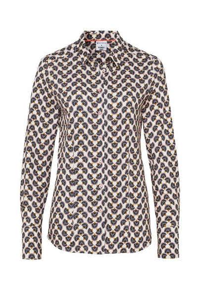 Desoto Shirtbluse »DESOTO Damen Bluse Pia langarm mit Alloverprint - 42780«