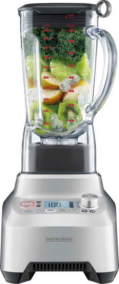 Gastroback Standmixer »Design Mixer Advanced Professional 41007«, für grüne Smoothies, 2.200 Watt