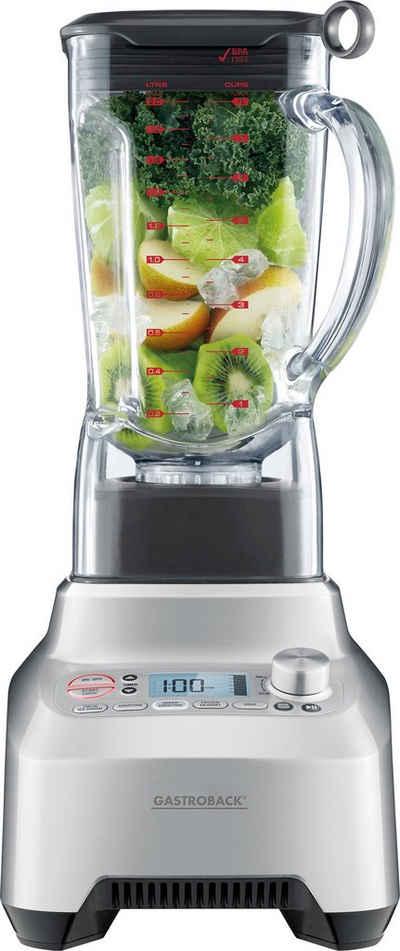 Gastroback Smoothie-Maker »Design Advanced Professional 41007«, 2200 W, für grüne Smoothies