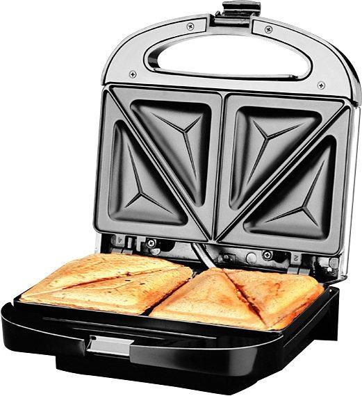 Gastroback Design Pro Sandwichmaker, 850 Watt in edelstahl/schwarz