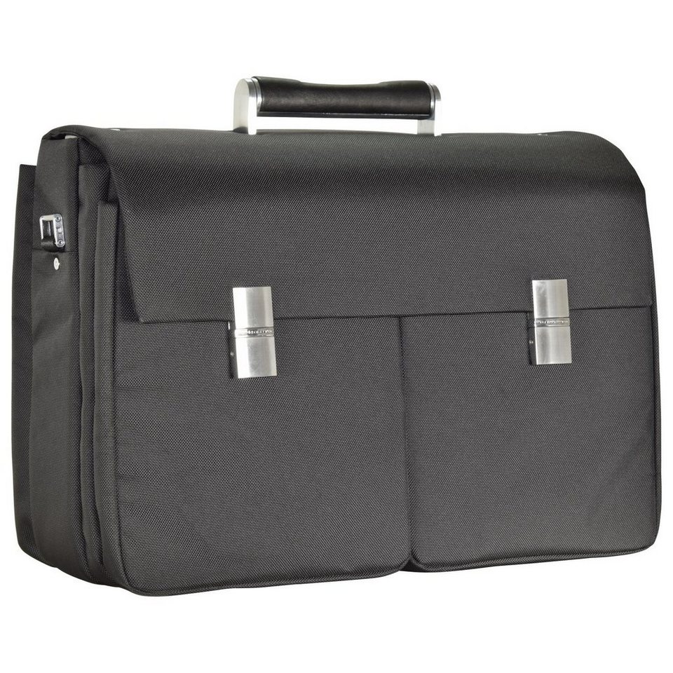 Porsche Design Roadster 3.0 Brief Bag FM Aktentasche 42 cm Laptopfach in black