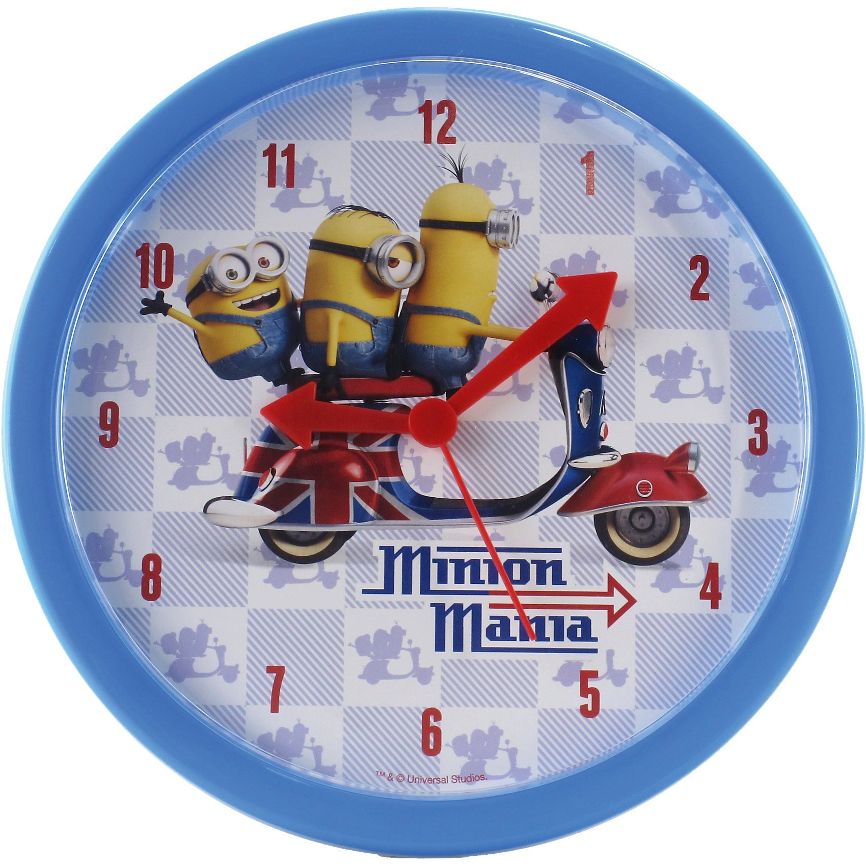 Joy Toy Wanduhr Minions