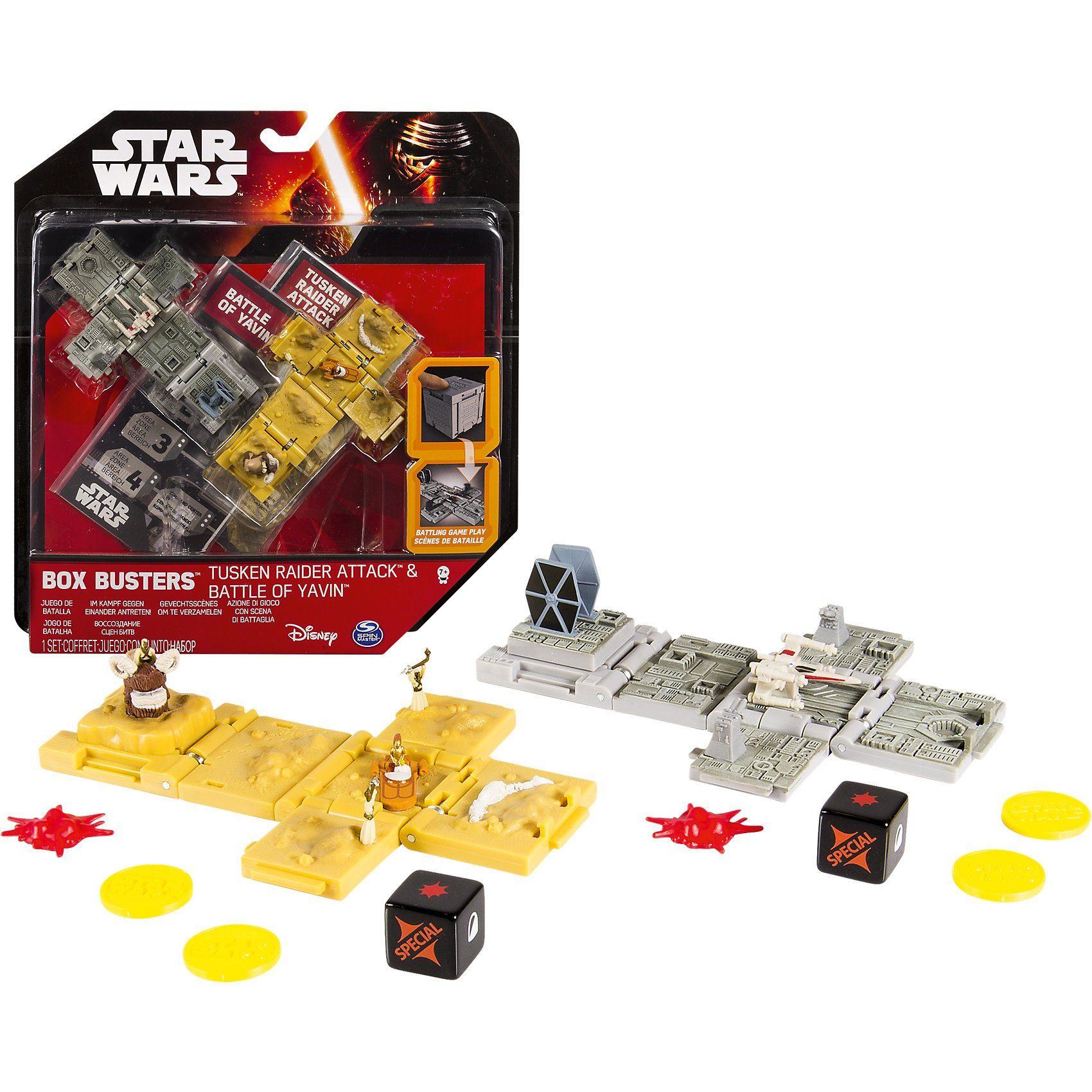 Spin Master Star Wars Box Busters Kampfwürfel Doppelpack Starter Set
