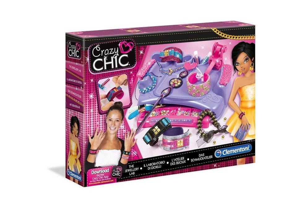 Clementoni Schmuckatelier, »Crazy Chic - Das Schmuckatelier«