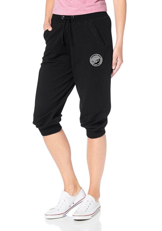 Ocean Sportswear Haremshose in schwarz