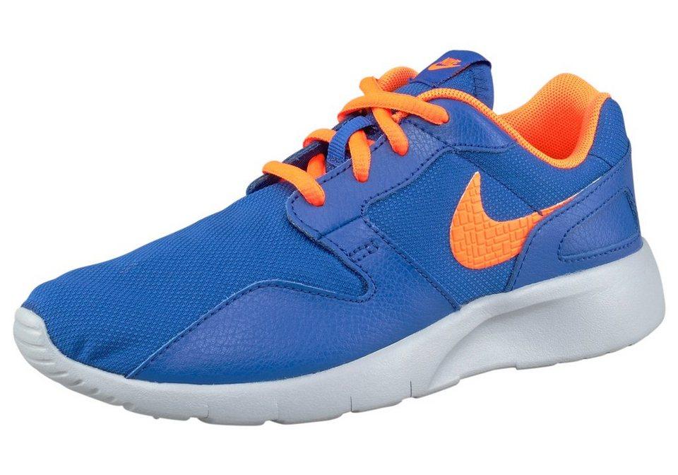 Nike »Kaishi« Sneaker in blau-neonorange