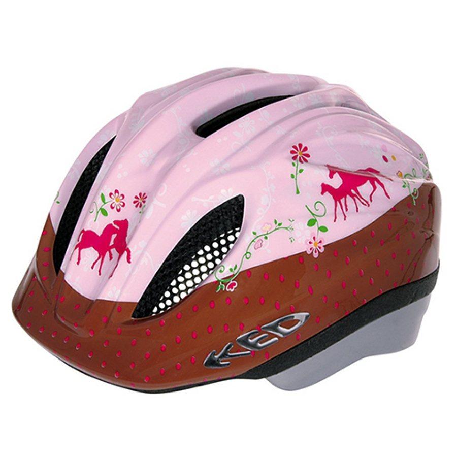 KED Fahrradhelm »Meggy Original Helmet Pferdefreunde« in pink