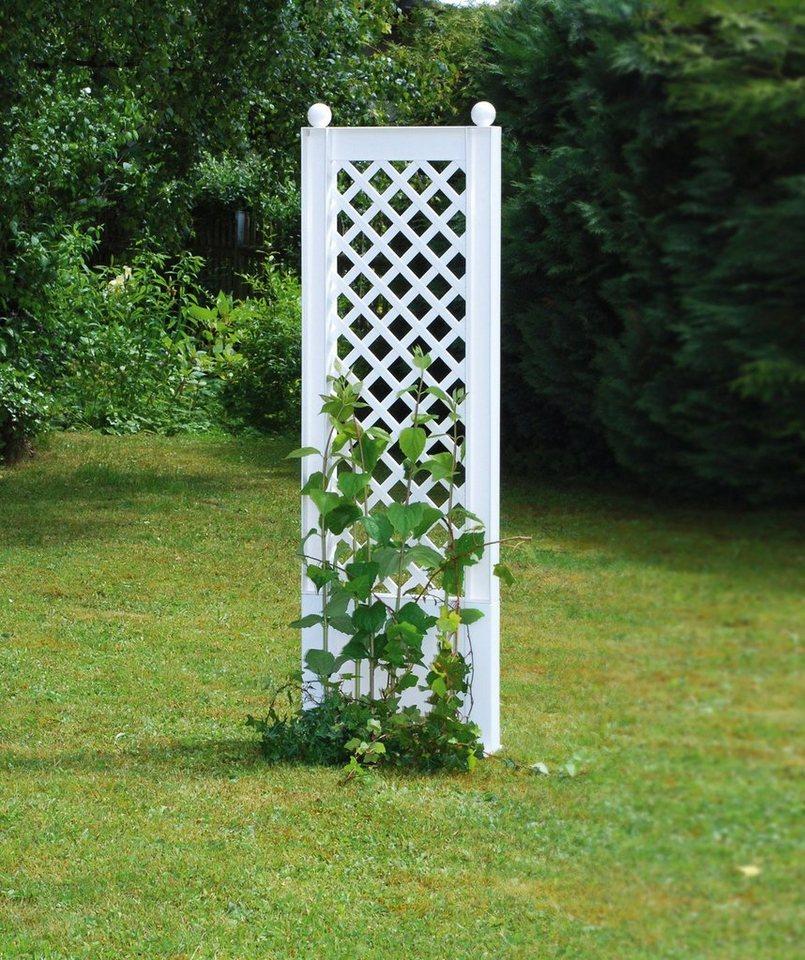 Spalier »43x140 cm, weiß« in weiß