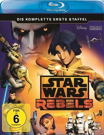 Blu-ray »Star Wars Rebels - Die komplette erste Staffel...«