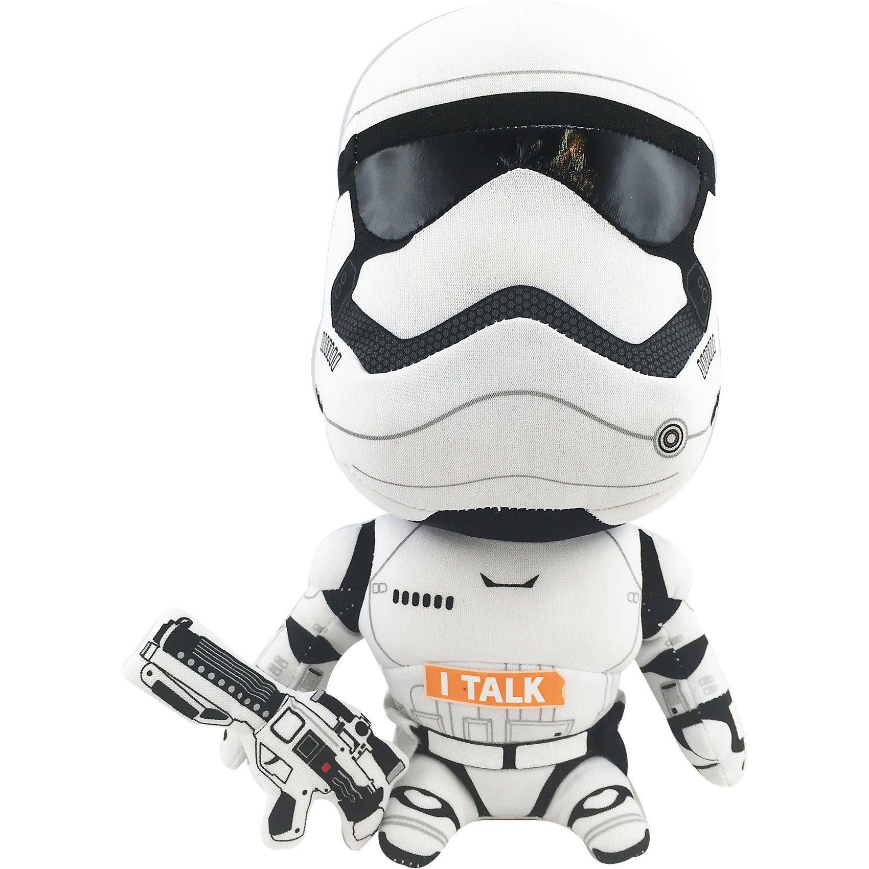 Jazwares Star Wars Stormtrooper Plüsch mit Sound 23cm