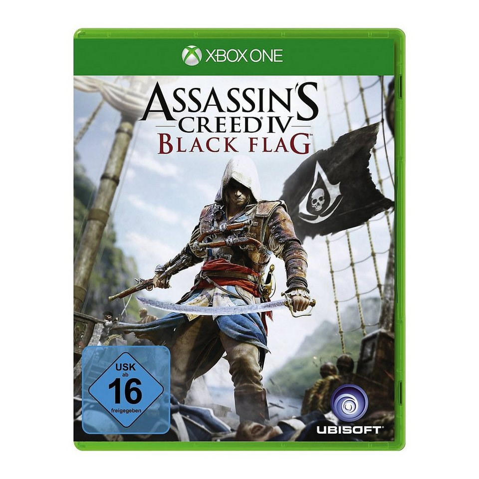 ak tronic xbox one assassin s creed 4 black flag otto. Black Bedroom Furniture Sets. Home Design Ideas