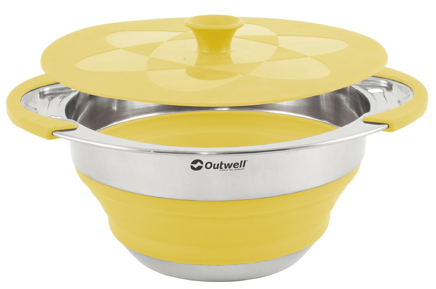 Outwell Camping-Geschirr »Collaps Pot with lid 2500ml«