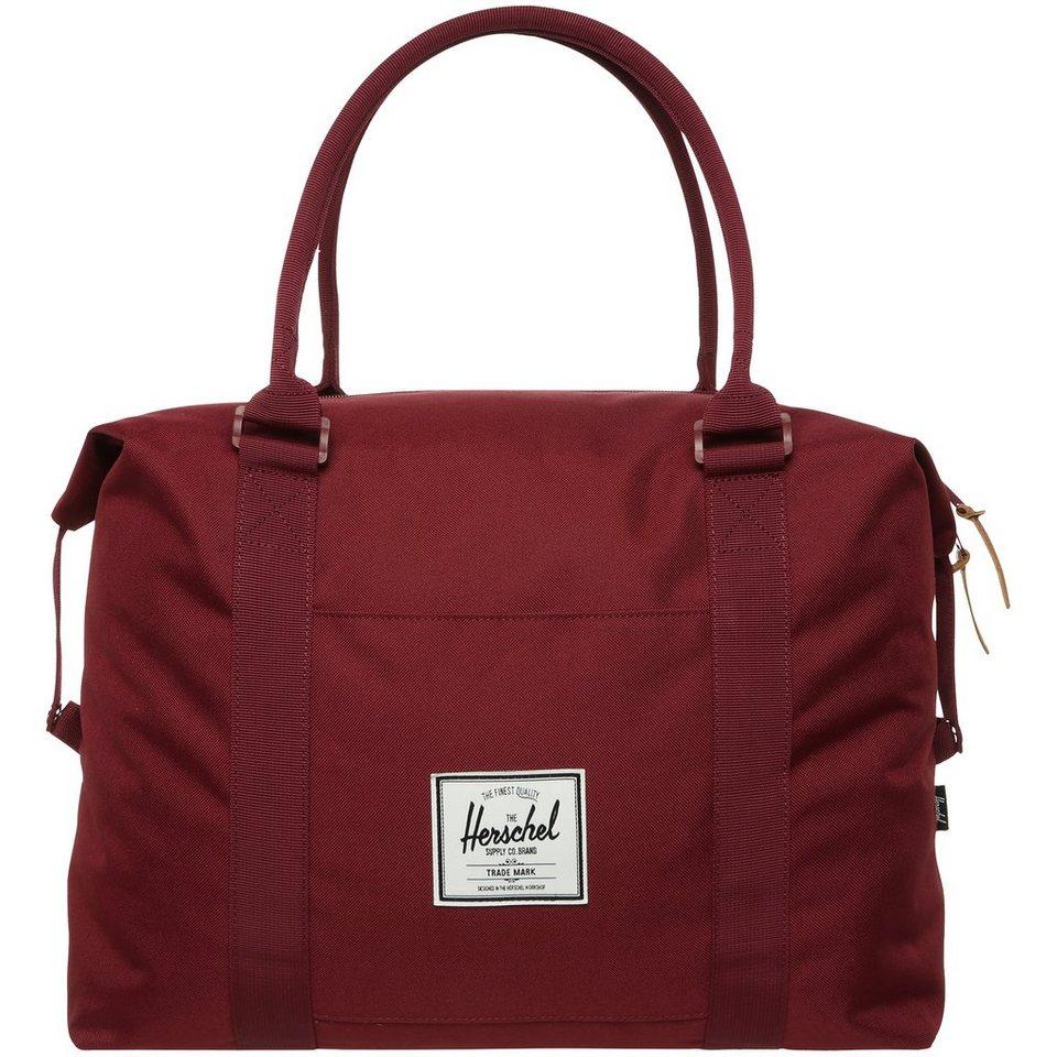 Herschel Strand Duffel Tasche in bordeaux