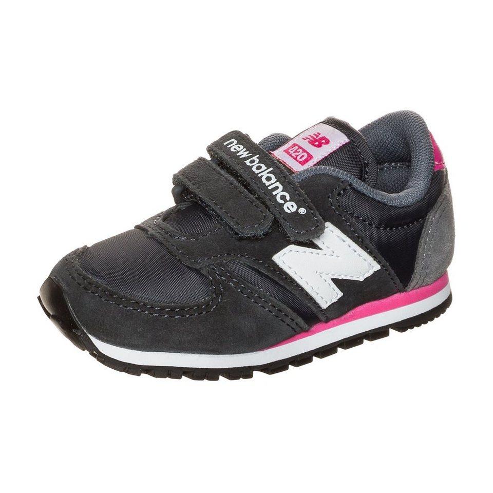 NEW BALANCE KE420-GEI Sneaker Kleinkinder in grau / pink / weiß