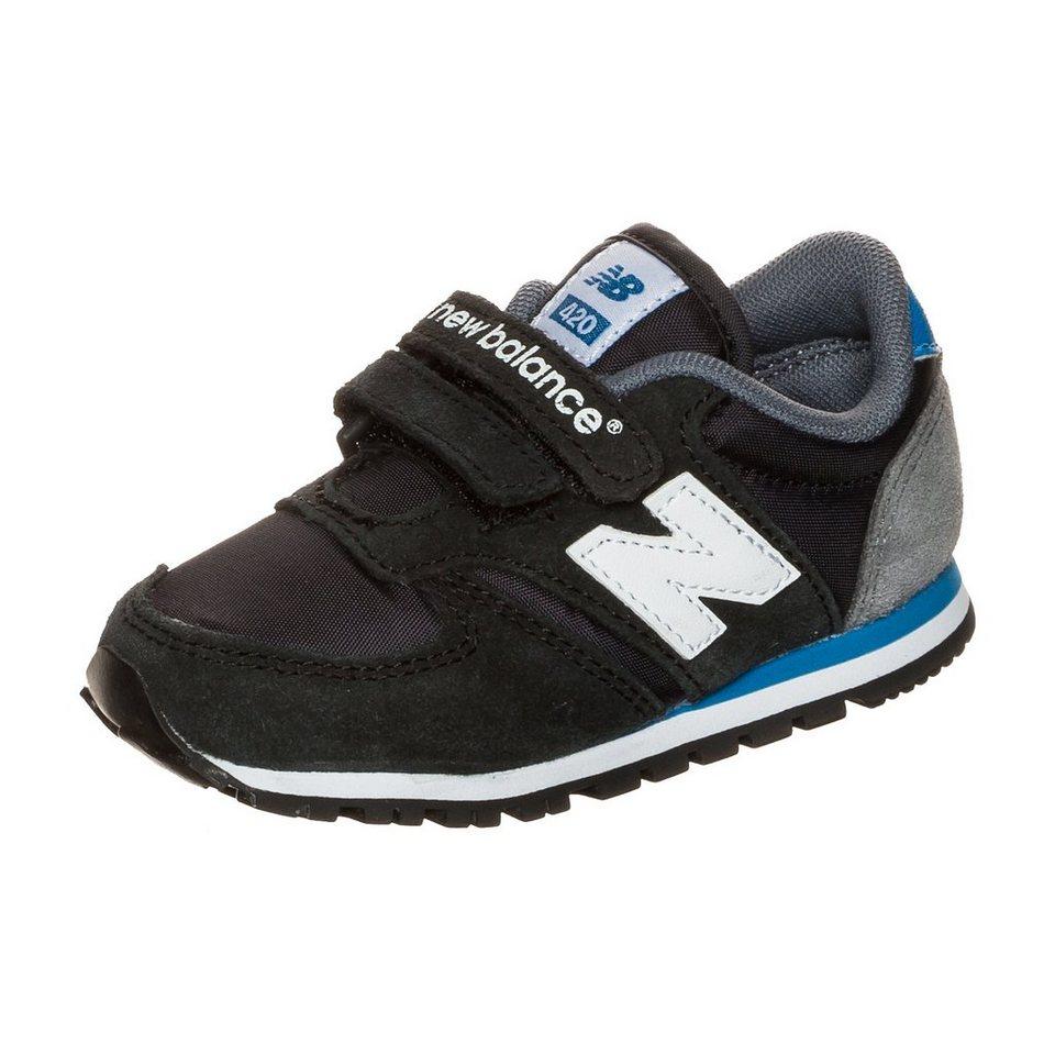 NEW BALANCE KE420-BAI Sneaker Kleinkinder in schwarz / blau