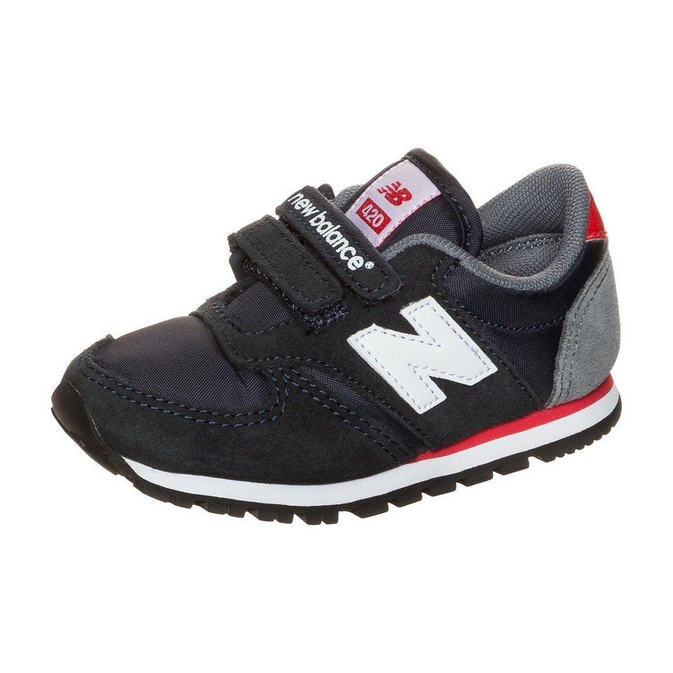 NEW BALANCE KE420-NVI Sneaker Kleinkinder in dunkelblau / weiß