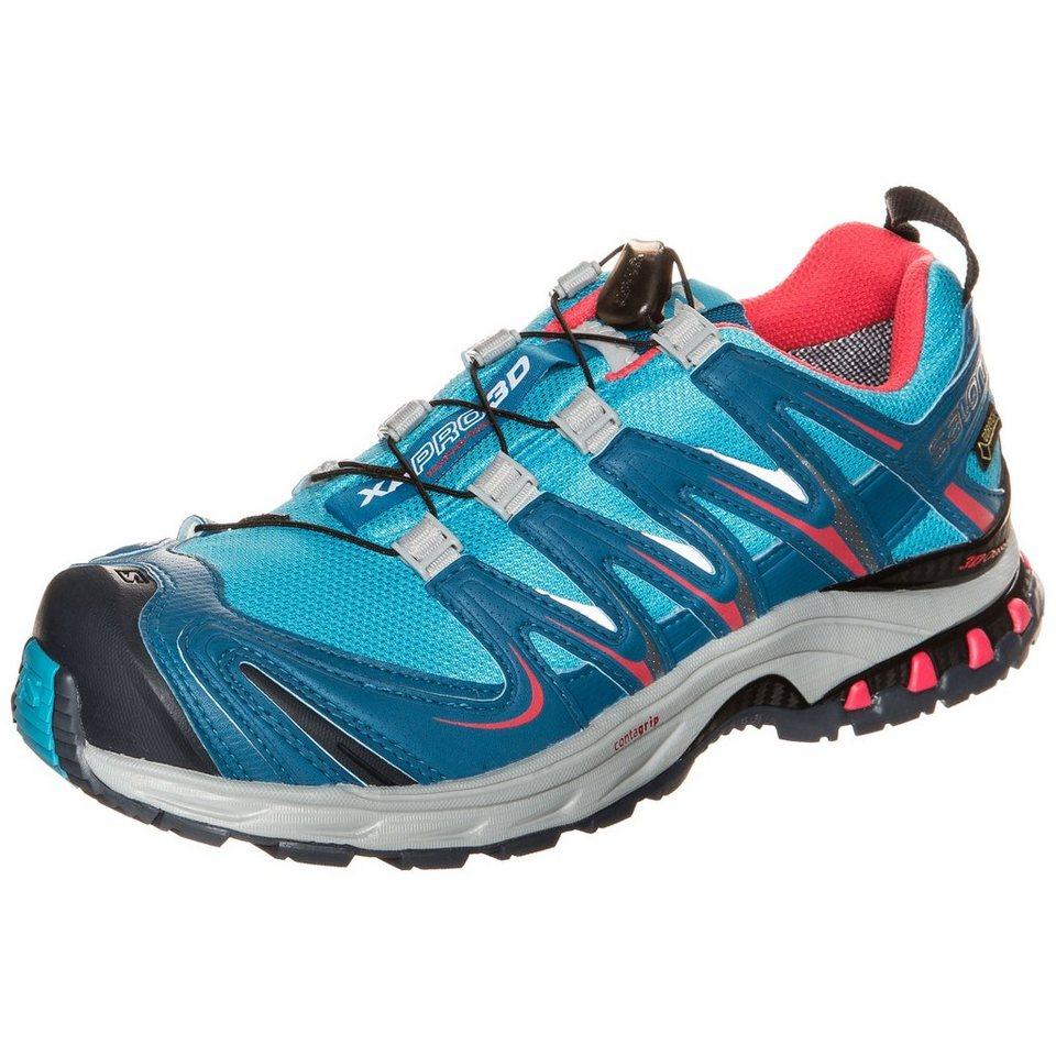 Salomon XA PRO 3D GTX Trail Laufschuh Damen in blau / rosa