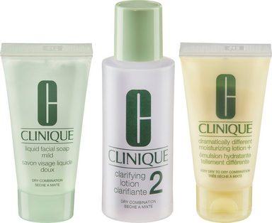 CLINIQUE Geschenk-Set »3-Phasen-Systempflege Hauttyp 2«