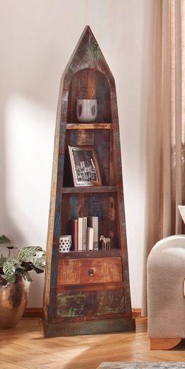 SIT Regal »Riverboat«, aus altem Holz gefertigt