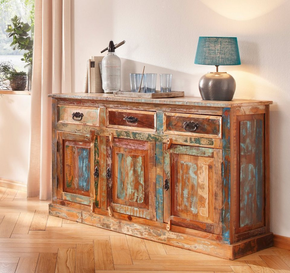 Sit sideboard riverboat breite 140 cm kaufen otto for Sideboard farbig