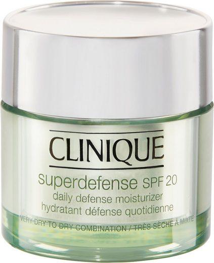 CLINIQUE Feuchtigkeitscreme »Superdefense SPF 20 Daily Defense Moisturizer«, Intelligente Pflege