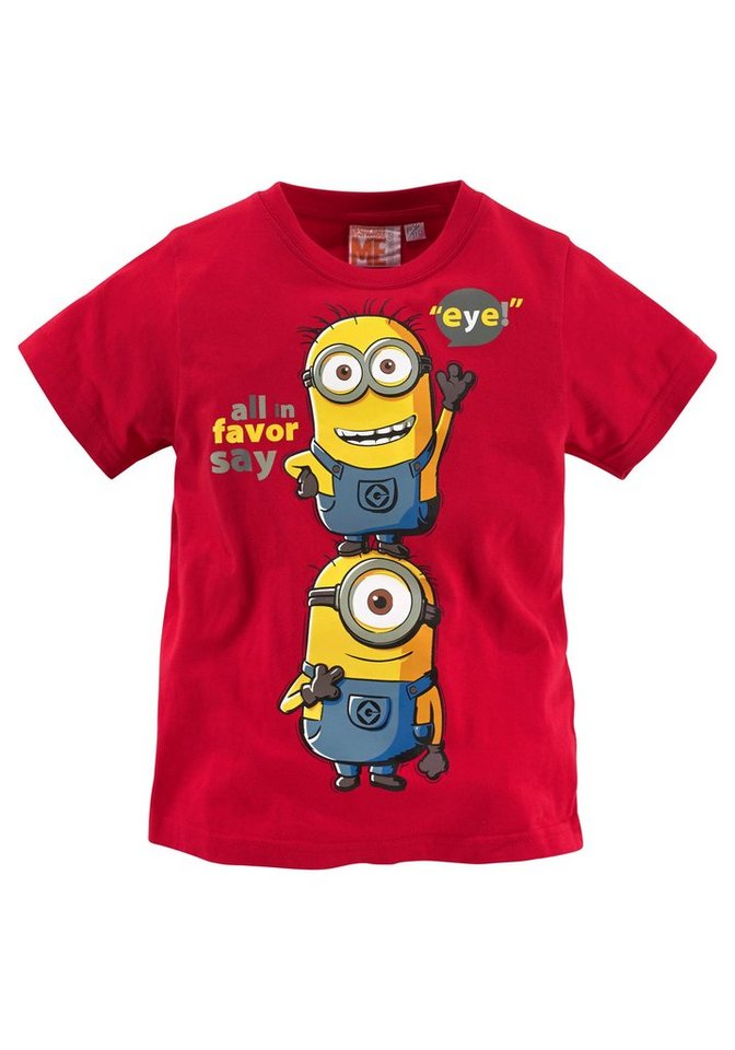 minions t shirt mit minions druck online kaufen otto. Black Bedroom Furniture Sets. Home Design Ideas