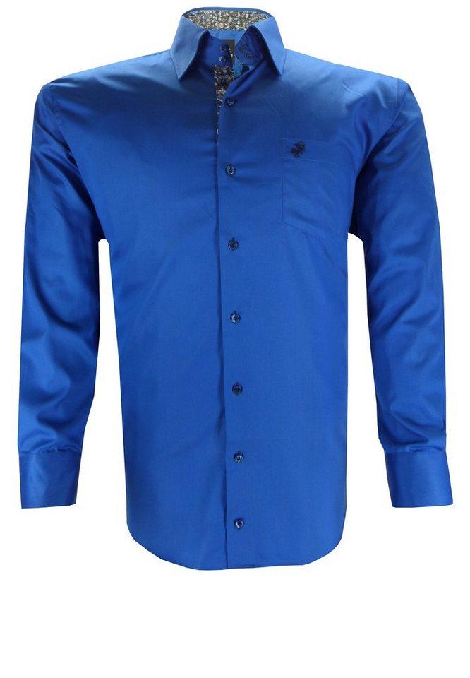 culture Businesshemd in Blau