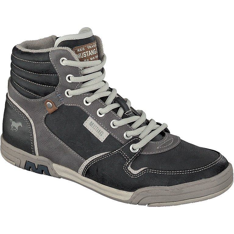 MUSTANG SHOES High Top Sneaker in stein