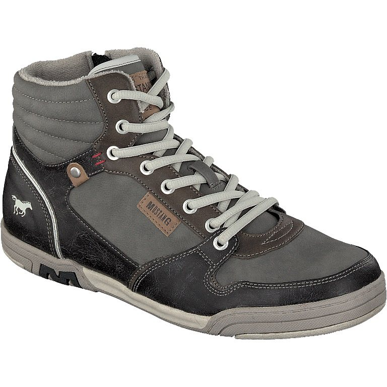 MUSTANG SHOES High Top Sneaker in grau