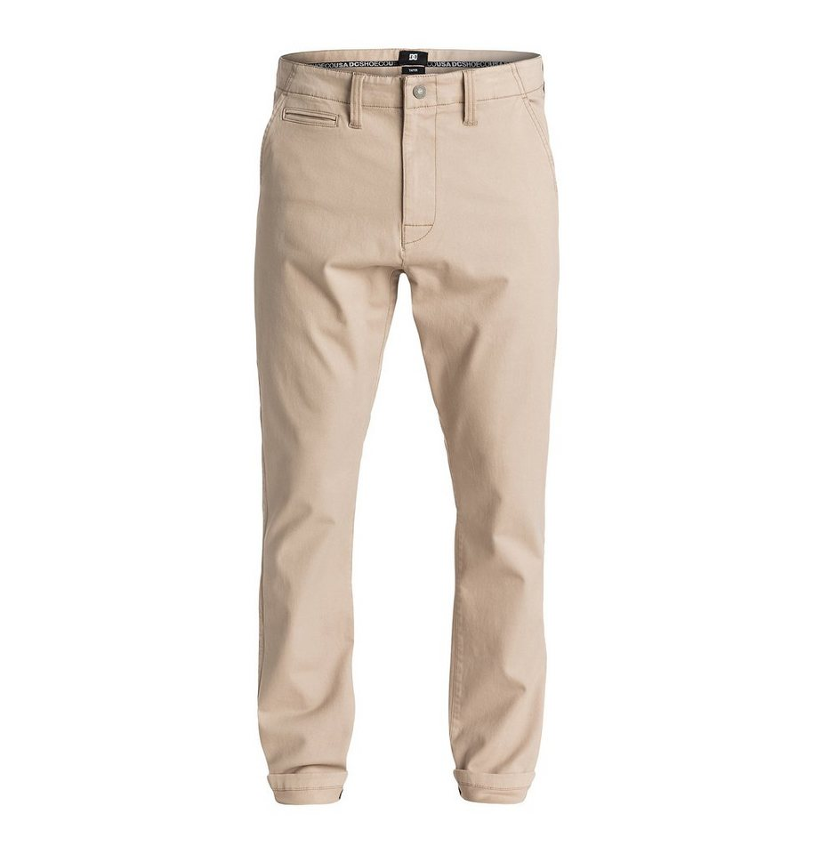 DC Shoes Hose »Taper Chino 32« in Khaki