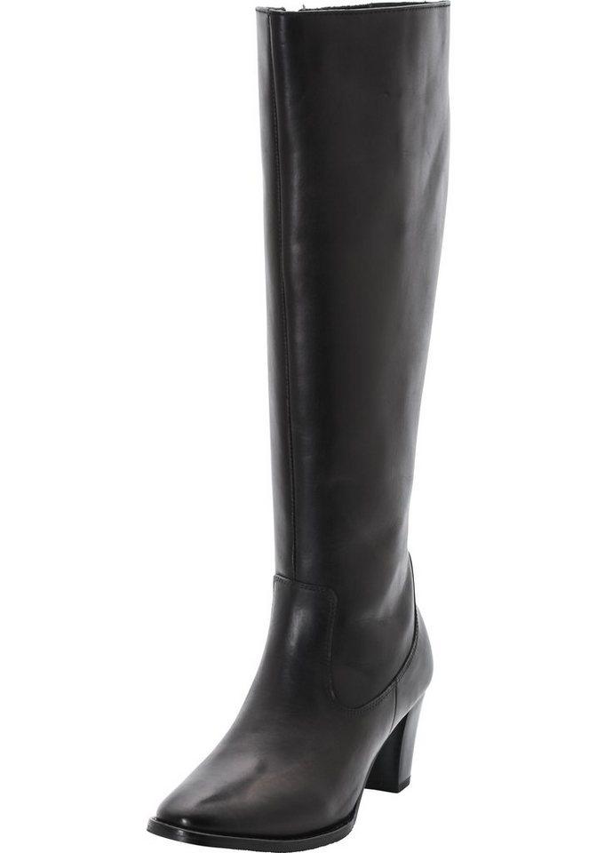 sheego XL-XXL Weitschaftstiefel in Weite G in schwarz